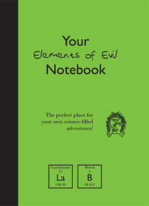 Elements of Evil notebook cover.indd